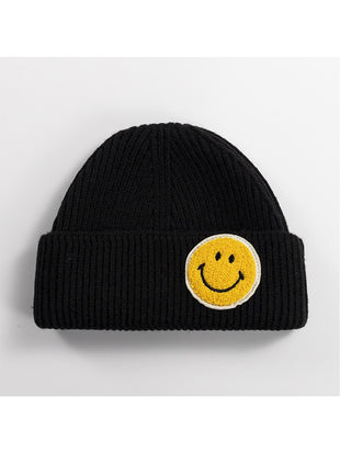 Fashion Warm Smiling Face Sweater Hats