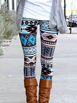 Aztec Ultra Stretchy Comfy Leggings