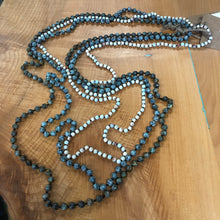 "Load image into Gallery viewer, 30"" Stone Beads Necklace"
