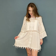 Load image into Gallery viewer, Lace Boho Tunic