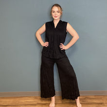 Load image into Gallery viewer, Crinkle Palazzo Pant