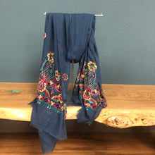 Load image into Gallery viewer, Embroidered Colorful Scarf