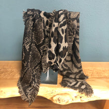 Load image into Gallery viewer, Animal Print Cuddly Scarf