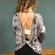 Load image into Gallery viewer, Long Sleeve Tie Dyed Knit Pullover
