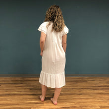 Load image into Gallery viewer, Embroidered Short Sleeve Nightgown