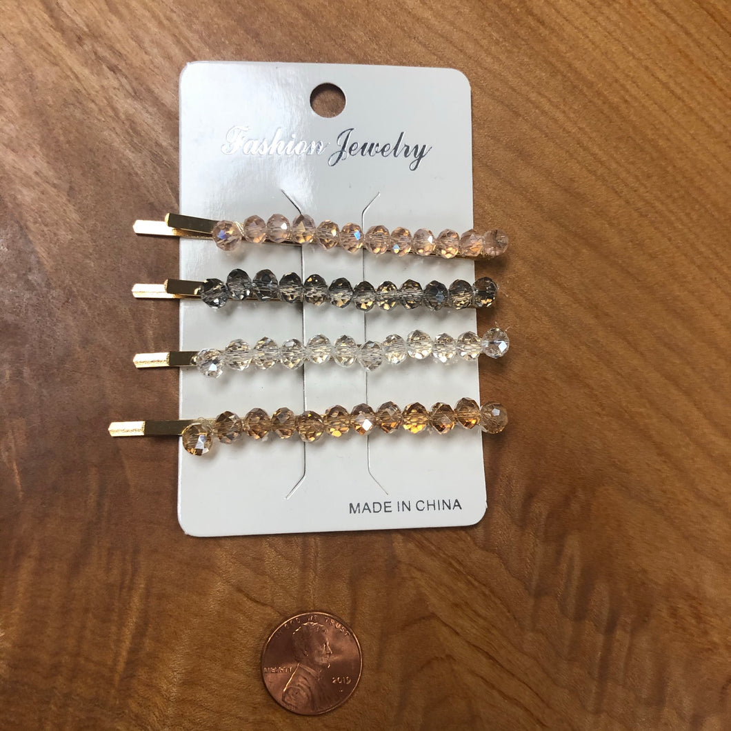 Beaded Bobbypins
