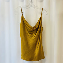 Load image into Gallery viewer, Satin Cowl Neck Top