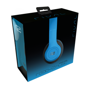 Blue Rival Headphones packaging