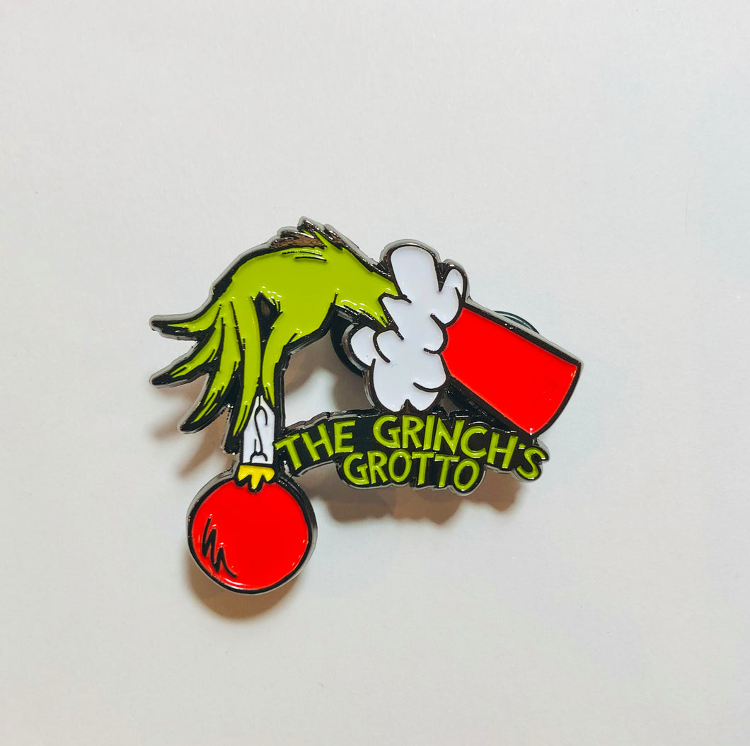 The Grinch Ornament Pin