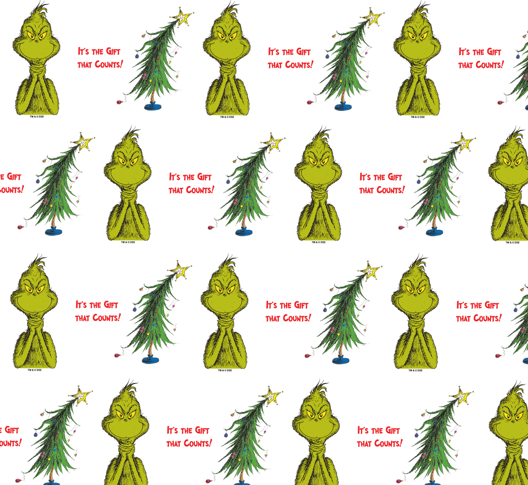 The Grinch Holiday Wrapping Paper