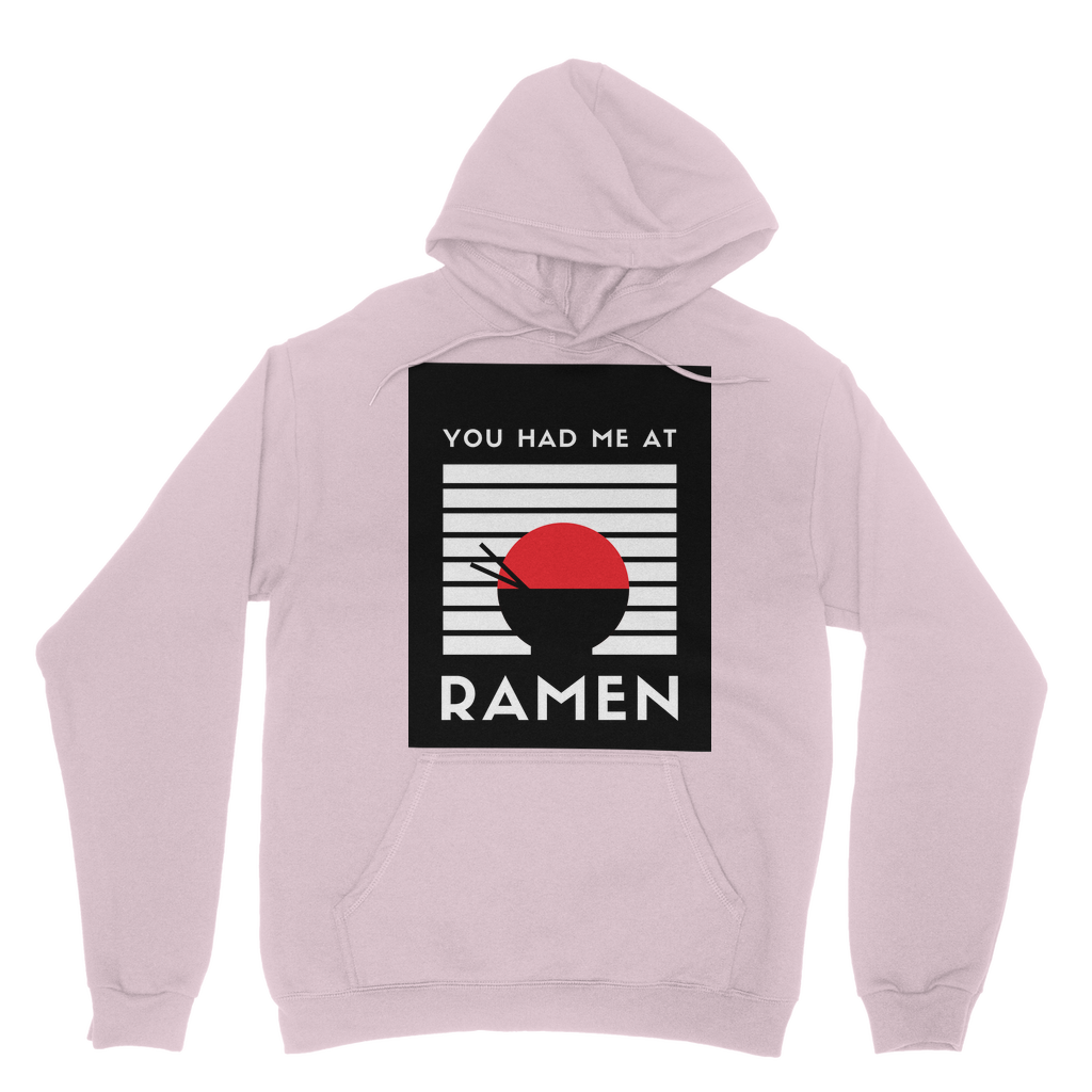 You Had Me at Ramen Simple T-Shirt Collection Adult Hoodie