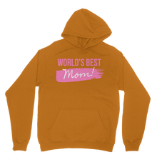Load image into Gallery viewer, World's Best Mom Adeline Francine Adult Hoodie