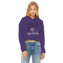 Load image into Gallery viewer, Adeline Dandelion Merch Cropped Hoodie