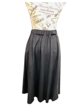 Load image into Gallery viewer, Black Elle Skirt With Bow