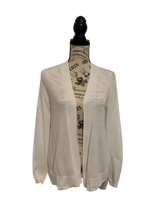 Load image into Gallery viewer, Lightweight White Old Navy Cardigan