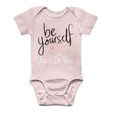 Load image into Gallery viewer, Adeline Dandelion Merch Classic Baby Onesie Bodysuit