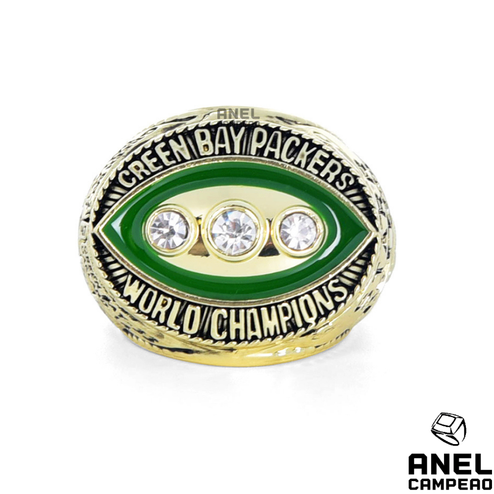 Anel Campeão Green Bay Packers Super Bowl II