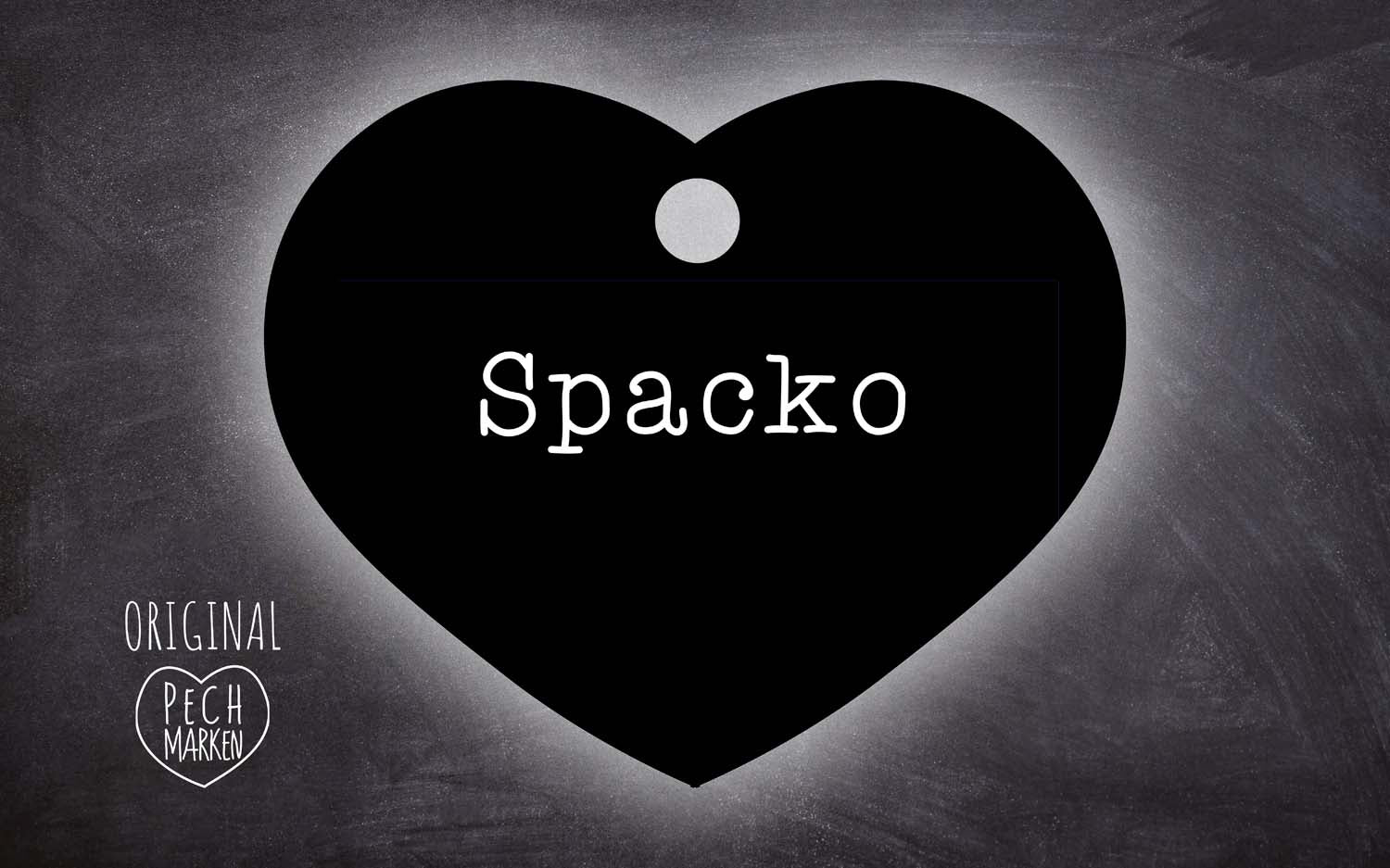 "Pechmarke ""Spacko"""