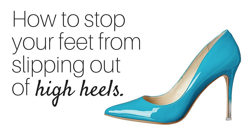 stop your feet from slipping forward in