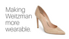 Making Weitzman more wearable.