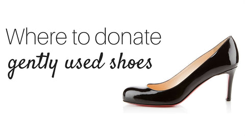 where to donate gently used shoes