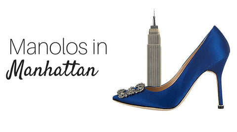 manolos in manhattan. how to beat high heel pain