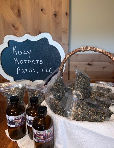 Elderberry Teas from Kozy Korners Farms