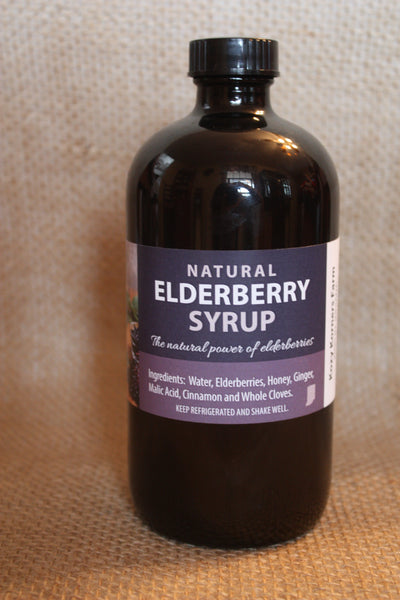 All Natural Elderberry Syrup