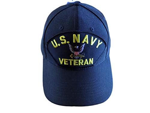 EAGLE CREST U.S Navy Veteran HAT USA Made