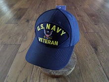 Load image into Gallery viewer, EAGLE CREST U.S Navy Veteran HAT USA Made