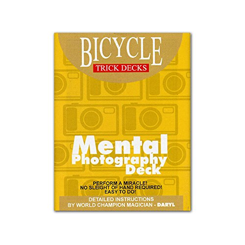 Murphy's Magic Mental Photo Deck Bicycle (Blue) - Trick