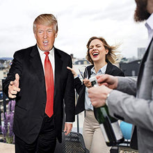 Load image into Gallery viewer, AT TEN Donald Trump Cardboard Cutout Standup-6 Feet Life Size Trump Stand up Cardboard-Great Party Decoration Solid Cardboard Print 75x29 inches