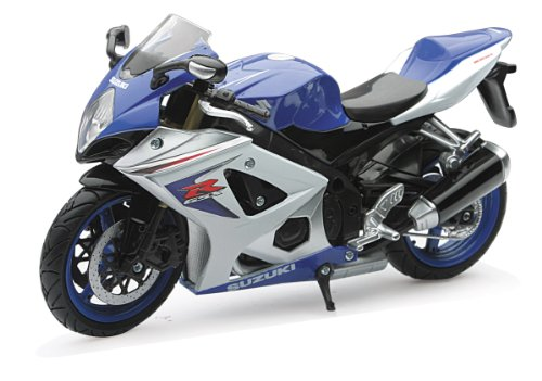 New Ray Motorcycles 1:12 2008 Suzuki Gsx-R R1000 (Random colors)