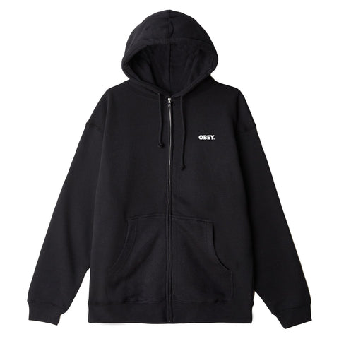 Obey - Bold Box Fit Zip Hood
