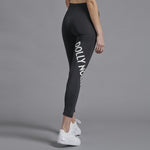 Dolly Noire - Black Logo Leggings