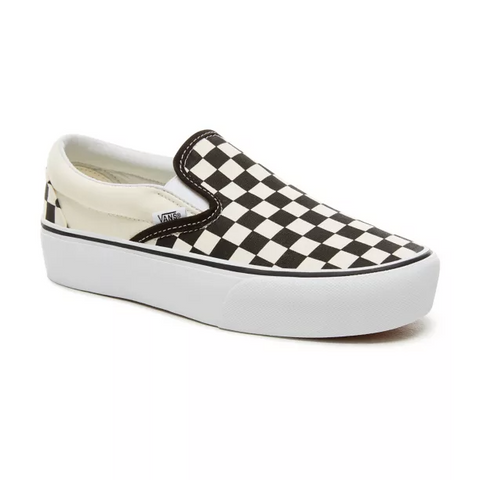 Vans - Checkerboard Classic Slip-On Platform