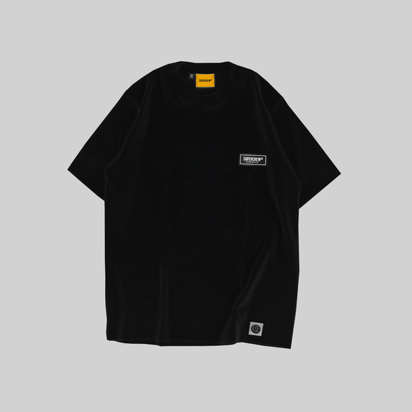 SIGNATURE PATCH BASIC TEE (REACTIVE BLACK)