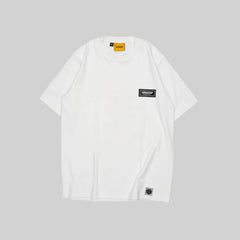 SIGNATURE PATCH BASIC TEE (IVORY WHITE)