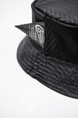 CORNETTO X SUPERCREW BLACK HOJICHA REVERSIBLE BUCKET HAT