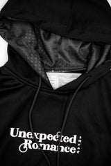 CORNETTO X SUPERCREW BLACK HOJICHA CROPPED HOODIE