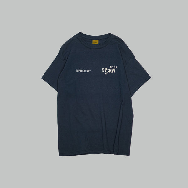 E&PD BASIC TEE (NAVY BLUE)
