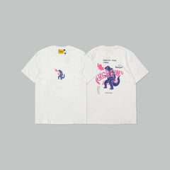 KAIJU X SUPERCREW TEE (WHITE)