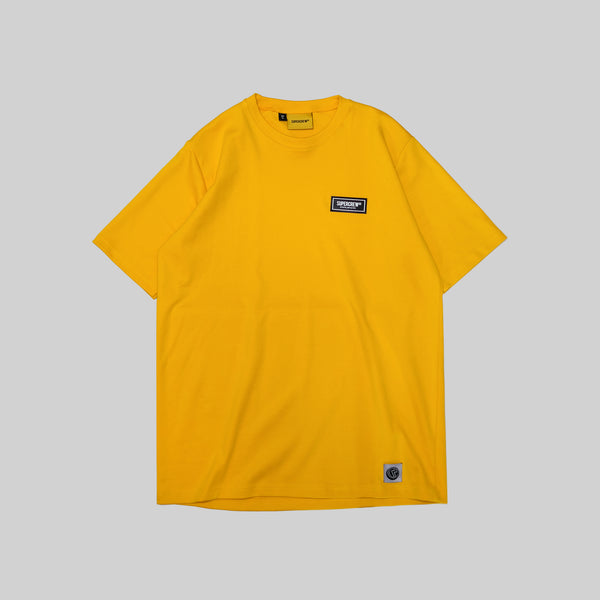 SIGNATURE PATCH BASIC TEE (YELLOW)