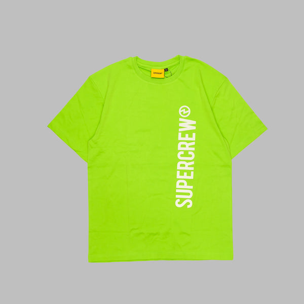 STATEMENT TEE 2.0 (LIME GREEN REFLECTIVE VERSION))