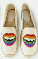 Serena Beaded Espadrilles