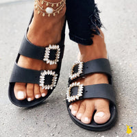 Grace Rhinestone Sandals