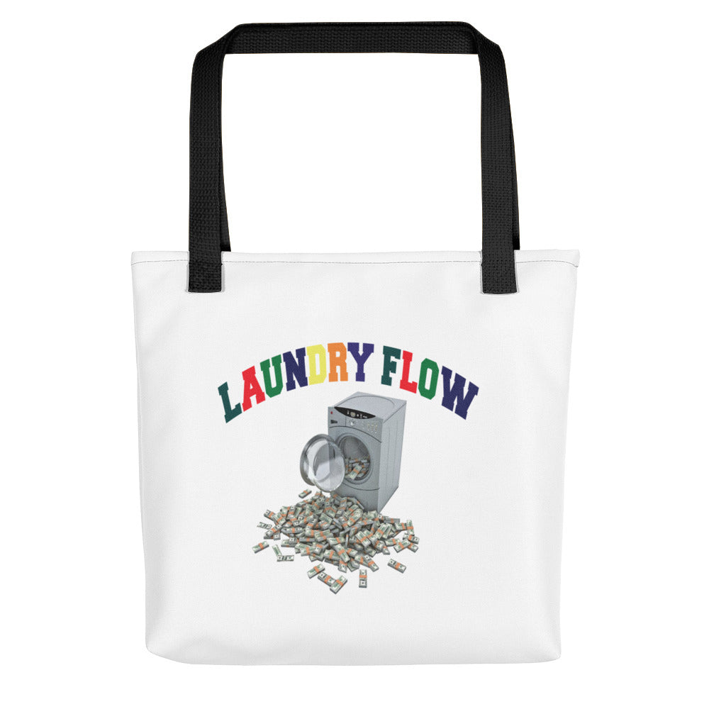 Laundry Flow Tote Bag