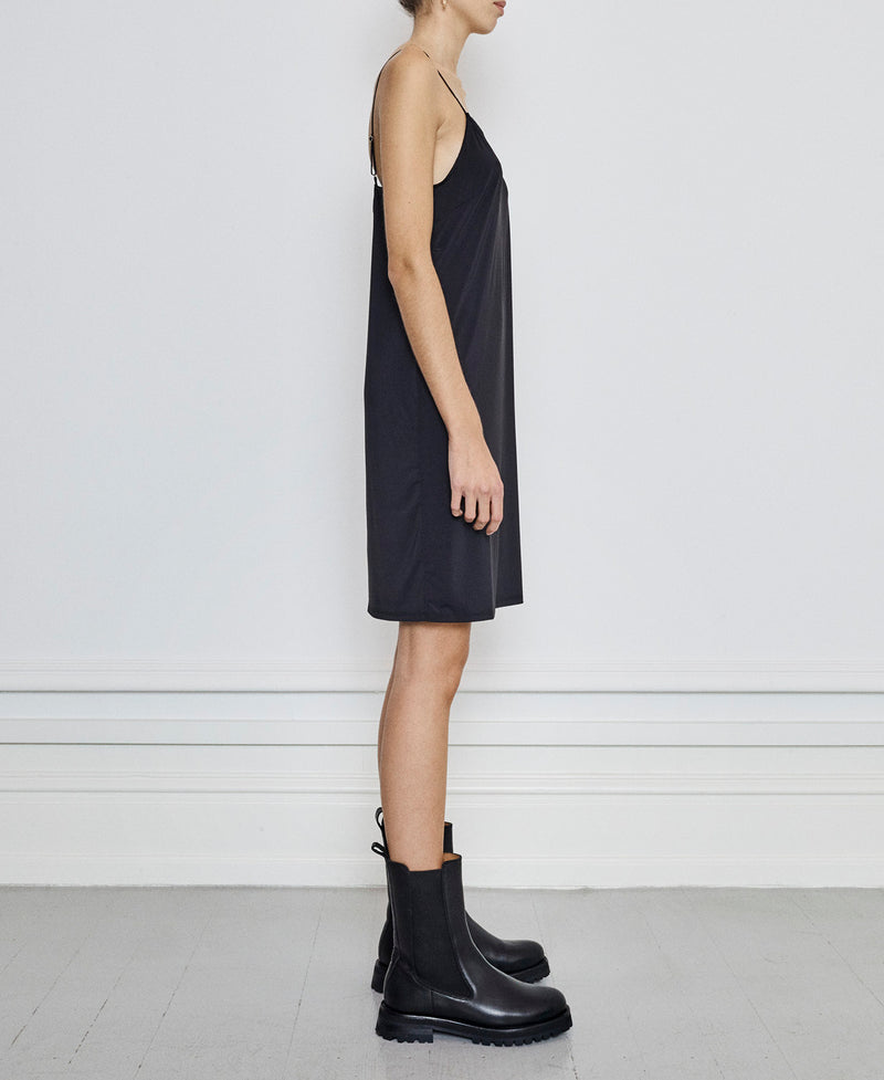 Melanie Slip Dress Noir