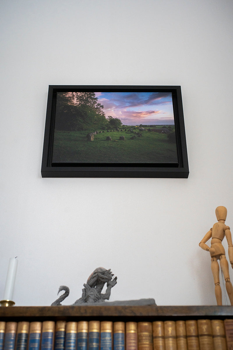 "Den längsta resan (""The Longest Journey"", signed and framed canvas print)"