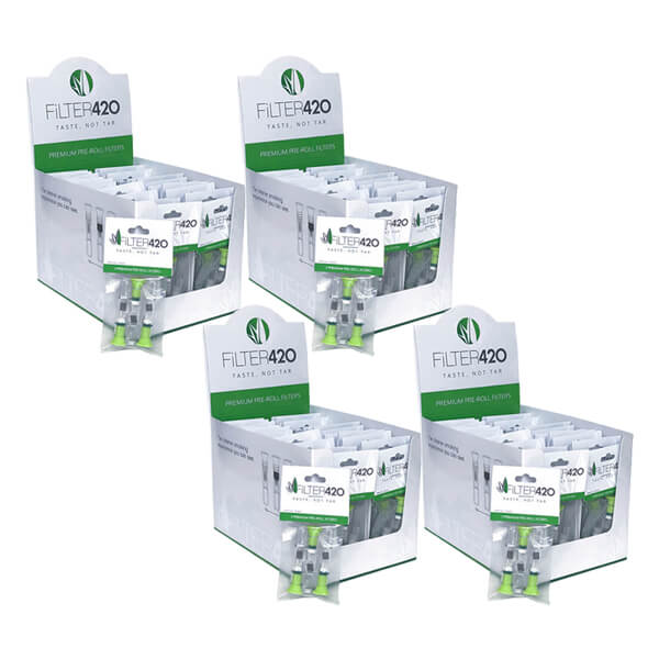 Premium Pre-roll Filters - 4 Cases - BUY IN BULK